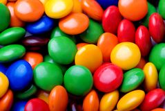 Candy beans Stock Photos