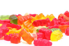Candy bear Stock Image