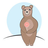 Candy bear Royalty Free Stock Images