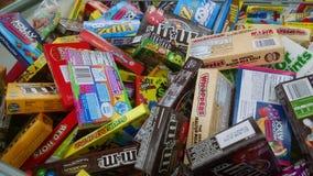Candy bin stock photos