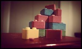 Candy blocks stock photos