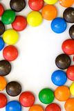 Candy border - vertical Royalty Free Stock Photography