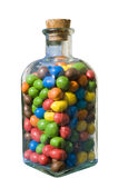 Candy in the botlle royalty free stock image