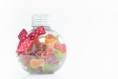 Candy in a bottle Royalty Free Stock Photos