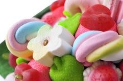 Candy bouquet Stock Photos