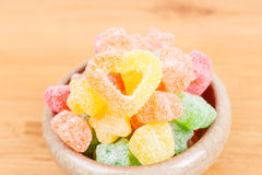 Candy in bowl Royalty Free Stock Photography