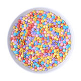 Candy bowl Stock Images