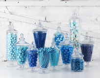 Candy bowls Stock Image