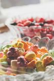 Candy in bowls Stock Photography