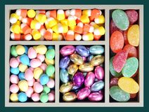 Candy box Stock Images