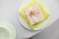 Candy box at wedding Royalty Free Stock Photography