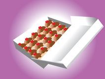 Candy box vector Royalty Free Stock Photo