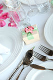 Candy box at wedding Stock Photo