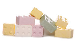 Candy brick sweets Royalty Free Stock Photography