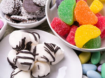 Candy Buffet and Dessert Table stock photography