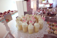 A candy buffet with a wide variety of candies Royalty Free Stock Photography