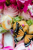 Candy Butterfly (1). Fake Butterfly in Candy Assortment Selection Stock Photography