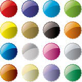 Candy button Stock Image