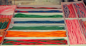 Candy cables royalty free stock image