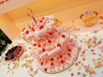 Candy cake Stock Photography