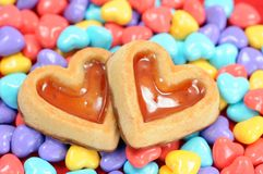 Candy and cake Royalty Free Stock Photography