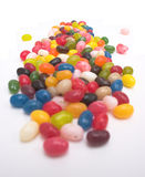 Candy, candy, CANDY!!!. Jelly bean candy - selective focus Royalty Free Stock Photography