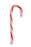 Candy cane. Isolated on white background Royalty Free Stock Images