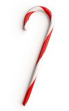 Candy Cane. Traditional candy cane isolated on white background royalty free illustration