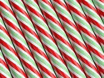 Candy Cane. Traditional Christmas candy canes background Stock Images
