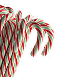 Candy Cane. Many candy canes ready for Christmas decoration Stock Photography