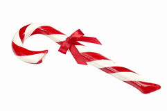 Candy Cane. Isolated Candy Cane royalty free stock photos
