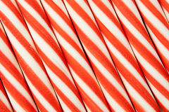 Candy cane background. Red and white candy cane background Stock Photos