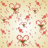 Candy Cane Background Royalty Free Stock Images