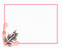 Candy Cane background Royalty Free Stock Photo