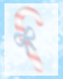 Candy Cane Background Blurred Royalty Free Stock Images