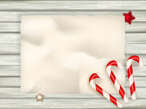 Candy Cane Background. EPS 10 Royalty Free Stock Photos