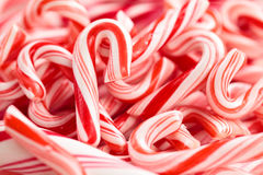 Candy Cane Background. Royalty Free Stock Photo