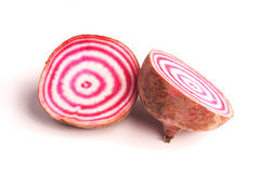 Candy cane beetroot Royalty Free Stock Photography