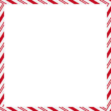 Candy Cane Boader Stock Images
