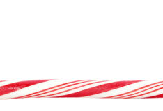 Candy cane border Stock Images