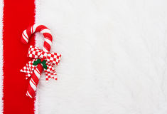 Candy Cane Border Royalty Free Stock Photos