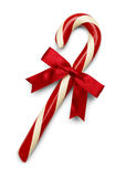 Candy Cane Bow Stock Photo