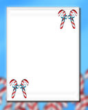 Candy Cane Christmas 6. An artistic holiday background style image vector illustration