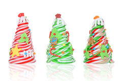 Candy Cane Christmas Trees Royalty Free Stock Photo