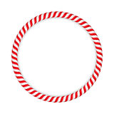 Candy Cane Circle Royalty Free Stock Photo