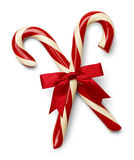 Candy Cane Cross Royalty Free Stock Image