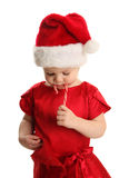 Candy Cane Cutie Stock Photos