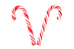 Candy Cane Duo Royalty Free Stock Image