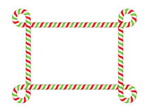 Candy Cane Frame Royalty Free Stock Images