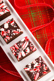 Candy Cane Fudge Royalty Free Stock Photo